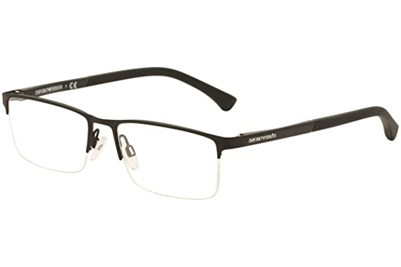 9e01fbc4 Eyeglasses Emporio Armani EA 1041 3175 BLACK RUBBER