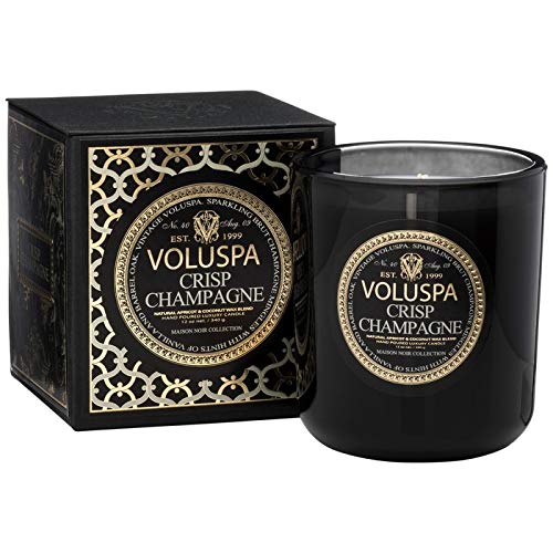 (Voluspa Crisp Champagne Classic Maison Candle, 12 Ounce)