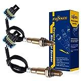 Kwiksen 2PCS O2 Oxygen Sensor 1 Upstream 234-4815 For 2009 2010 2011 Buick Enclave Chevrolet Traverse GMC Acadia 3.6L