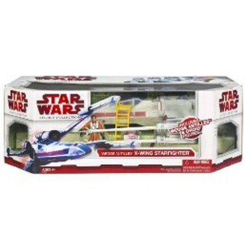 Star Wars Clone Wars The Legacy Collection Exclusive Vehicle X-Wing Fighter with Wedge Antilles and Droid