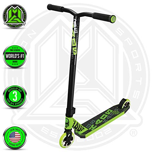 Madd Gear MGP Kick PRO Scooter - Suits Boys & Girls Ages 6+ - Max Rider Weight 220lbs - 3 Year Manufacturer's Warranty - World's #1 Pro Scooter Brand - Built to Last Est. 2002