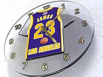 NBA Basketball Jersey sobre el Th?Me de los relojes murales???N