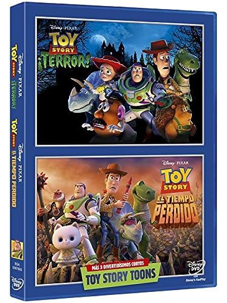 Pack: Toy Story: ¡Terror! + Toy Story: El Tiempo Perdido DVD: Amazon.es: Personajes animados, Angus MacLane, Steve Purcell, Personajes animados: Cine y Series TV