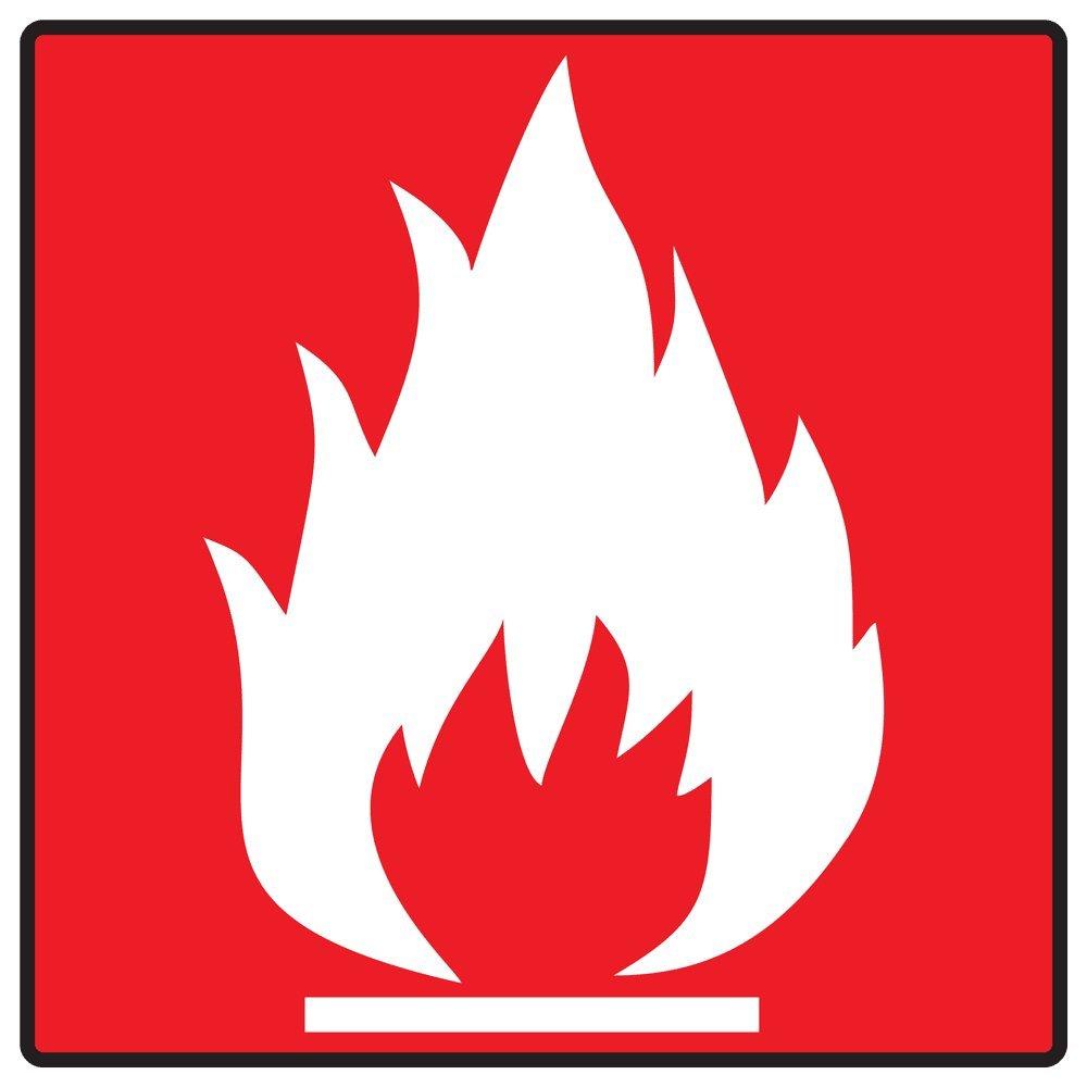 Hasil gambar untuk flammable symbol