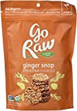 Go Raw Ginger Snap Cookies, Organic 3.0 OZ(Pack of 3)
