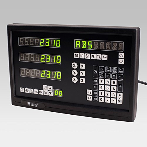 BiGa BC20-3M digital readout for milling machine with 3 linear scales(400+450+800mm)