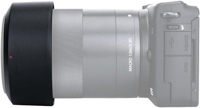 FOTGA Bayonet Reversible Lens Hood for Canon EF-M 55-200mm f//4.5-6.3 is STM Lens Replacement ET-54B
