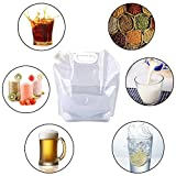 4 x 5 Litres/5.3 Gal Collapsible Water Jug