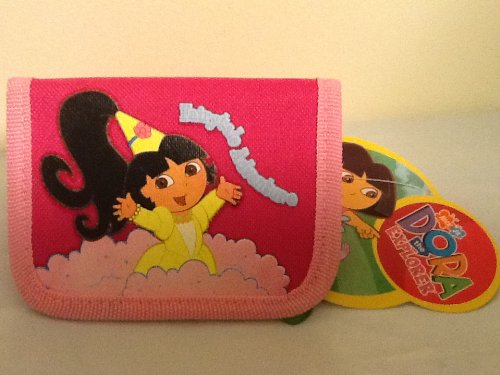 Dora the Explorer Trifold Wallet - Princess Dora! Dora The Explorer Wallet