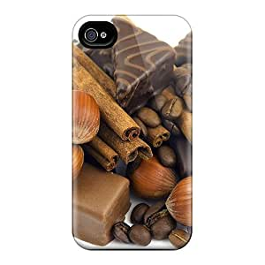 Hot Design Premium UGfGqoJ1937nTuQA Tpu Case Cover Iphone 4/4s Protection Case(chocolates Something More)