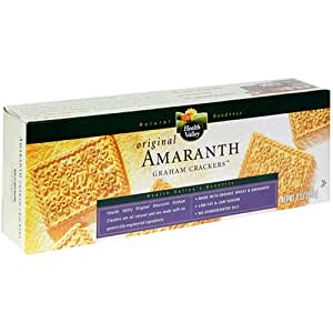 Health Valley Crackers, Graham Amaranth, 7-Ounce Boxes (Pack of 6)