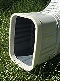 Downspout Safety Cap 3x4 White 2PK