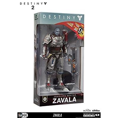 McFarlane Toys 13043-0 Destiny 2 Zavala Collectible Action Figure: Toys & Games
