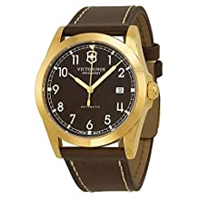 Victorinox Swiss Army Men's Infantry 241646 Brown Leather Swiss Automatic Watch