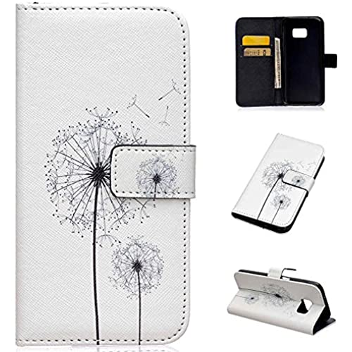 Galaxy S7 Case, S7 Case, LANDEE The unique design PU Leather Wallet Stand Flip Case Cover for Samsung Galaxy S7 (Dandelion) (S7-P-0013) Sales