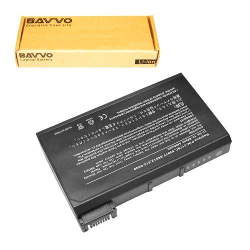 (Bavvo 8-Cell Battery Compatible with Dell 8M815 Inspiron 2500 Inspiron 3700 3800 4000 4100 4150 8000 8100 8200, PN: 1691P 5081P 3149C 53977 )