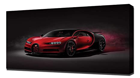 Amazon Com Lilarama Usa 2019 Bugatti Chiron Sport V1 Canvas Art