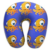 Octopus Halobios Support Neck Pillow Spa Memory Foam U-SHAPE Driving Women
