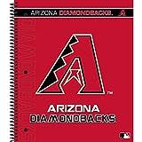 C.R. Gibson 3-Subject Spiral Notebook, Arizona Diamondbacks (M902428WM)