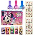 Townley Minnie Mouse Cosmetic Set with Nail Polish Stickers and More