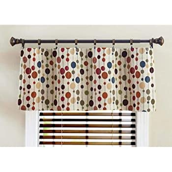 This Item Better Homes U0026 Gardens Hodgepodge Valance  Chenille Dots