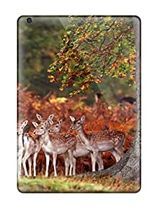 ChrisWilliamRoberson Case Cover Protector Specially Made For Ipad Air Deers In The Forest