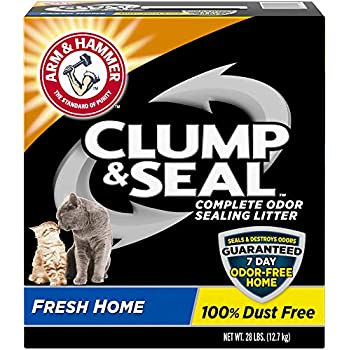 Arm & Hammer Clump & Seal Cat Litter, Fresh Home Scent 28lb