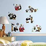 RoomMates RMK3144SCS Kung Fu Panda 3 Peel and Stick Wall Decals