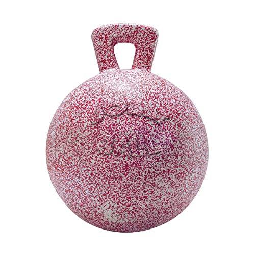 Horsemens Pride Jolly Ball Horse Toy (10in) (Bubblegum Scented Pink) by Horsemen's Pride (Image #4)