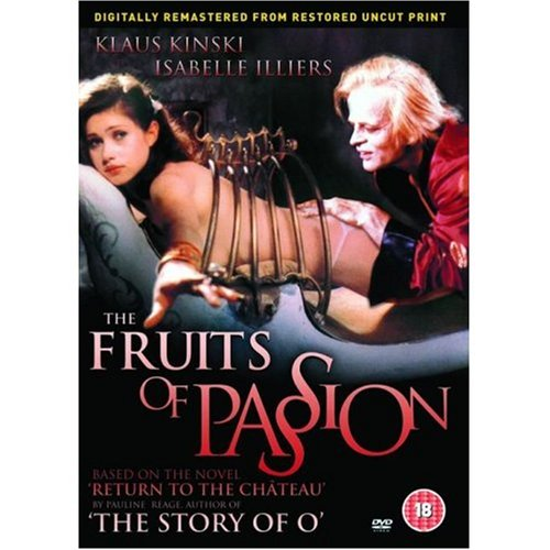 Amazon Com The Fruits Of Passion The Story Of O Continued Uncut Region 2 Import Klaus Kinski Isabelle Illiers Movies Tv