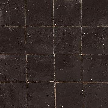 Zellige Carrelage Noir Amazon Fr Bricolage