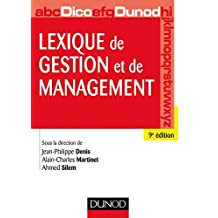Lexique de gestion et de management - 9e éd. (Hors Collection) (French Edition)