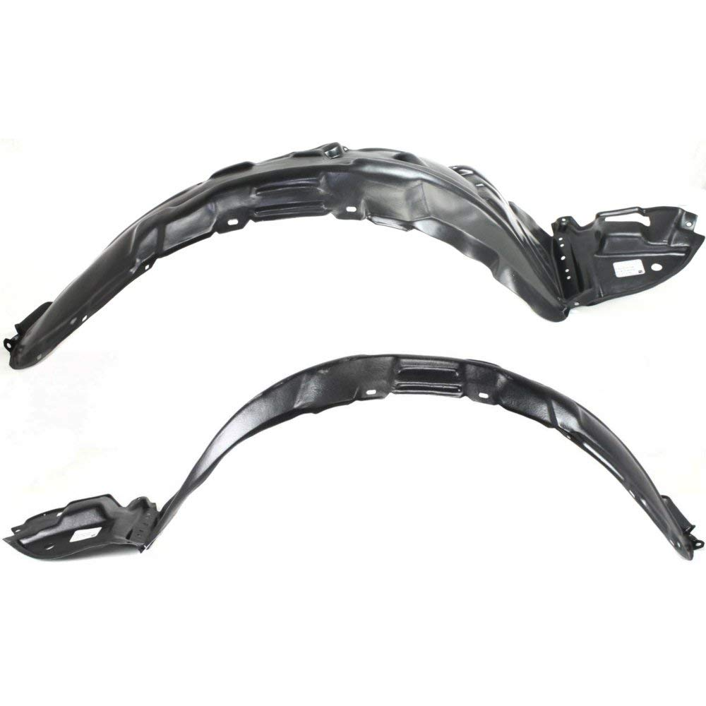 Fender Liner Compatible with 2003-2008 Toyota Matrix Front Left & Right Side Set of 2 by Evan Fischer (Image #1)