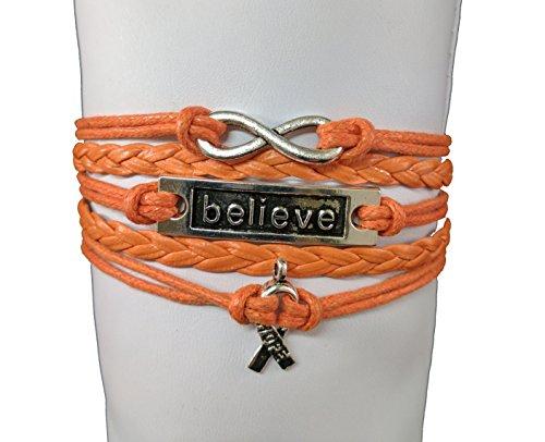 orange-ribbon-bracelet-leukemia-awareness-ms-awareness-self-injury-kidney-cancer-adhd-malnutrition-a