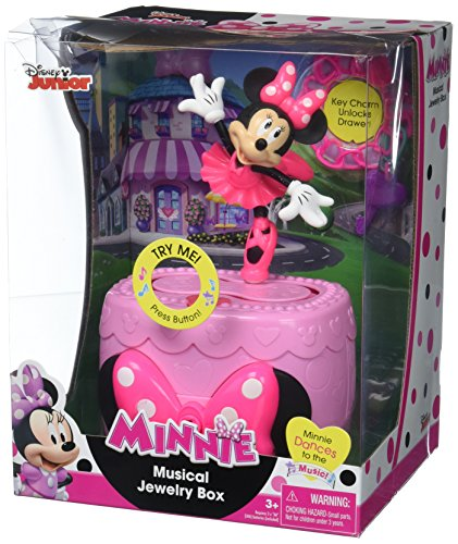 Just Play Minnie Bow-Tique Musical Jewelry (Mouse Shoe Charms)