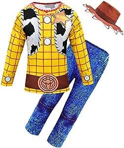 Disfraz de Woody de Halloween Juego de Roles de Woody Vaca ...