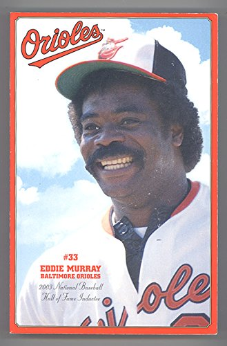 - 2003 Baltimore Orioles Media Guide Eddie Murphy on Cover