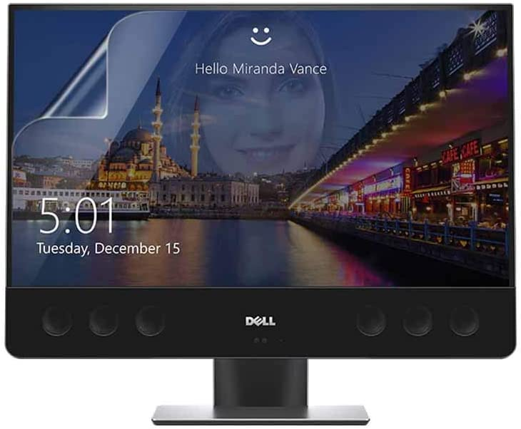 Celicious Matte Anti-Glare Screen Protector Film Compatible with Dell XPS All in One 27 7760 [Pack of 2]