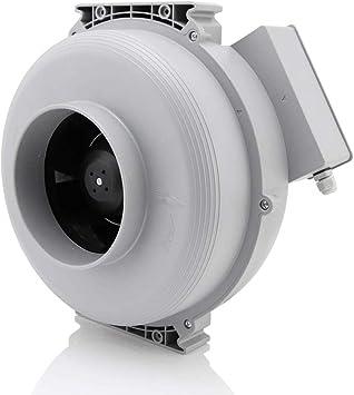 Hon&Guan Extractor de Aire Silencioso 150mm - 533m³/h Ventilador ...