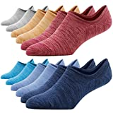 Cotton Low Cut No Show Socks,Funcat Anti-Slip Ultimate Casual Cool Summer Fashion Colorful Soft Socks for Men&Women,6 Pairs