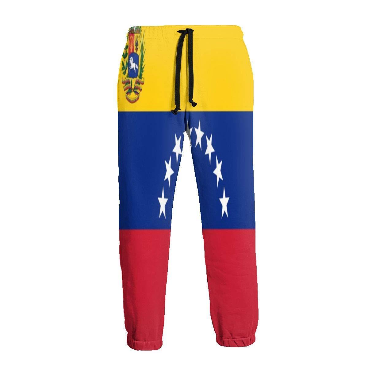 Cute Bi Venezuela Flag Pantalones de Chándal para Hombre ...
