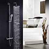 Hausbth Bathroom Thermostatic Mixer Shower System