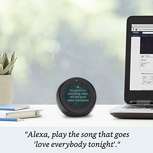 Echo Spot Black Amazon devices Accessories