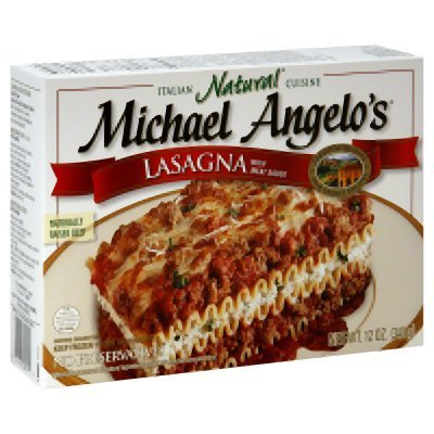michael angelos lasagna with meat sauce entree 10 ounce 8 per case shop24pro. Black Bedroom Furniture Sets. Home Design Ideas