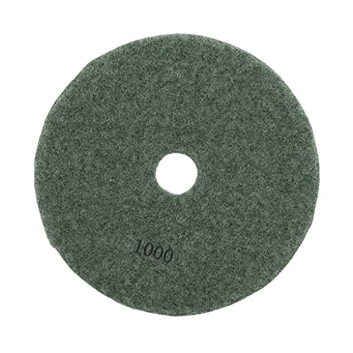 3'', 4'' Diamond Polishing Pad Grinding Disc for Granite Marble Concrete Stone - 1000#, 3 3' Diamond Polishing Pad