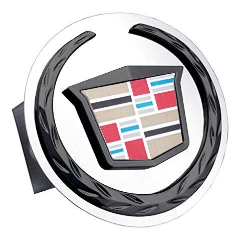 Au-tomotive Gold Cadillac Black Pearl New Logo Trailer Hitch Plug by Au-tomotive Gold