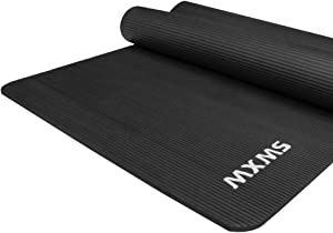 JOANNA'S HOME YUREN Yoga Mat Extra Thick Exercise Mat High Density Anti-Tear Fitness Workout Mat 72x35 Inch with Carrying Strap