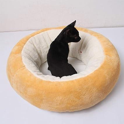 COL PETTI Huevo Escalfado Forma Mascota Nido Cama Perrera Perrera Gato Neumático Nido Redondo