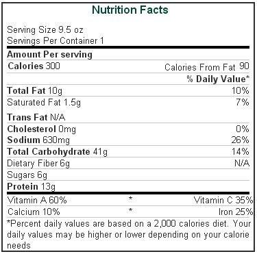 Amys Organic Tofu Vegetable Lasagna, 9.5 Ounce -- 12 per case.