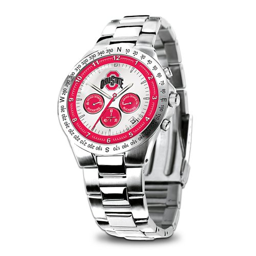 Ohio State Buckeyes Collector's Watch by The Bradford Exchange by Bradford Exchange
